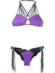printed bikini set Janiero
