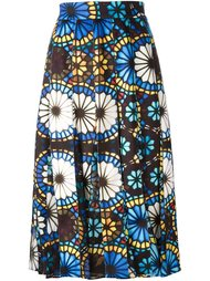 stained glass print skirt Miahatami