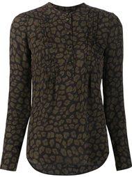 рубашка с леопардовым рисунком Veronica Beard