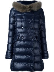 collar detail padded coat Duvetica