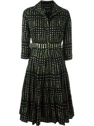 расклешенное платье с узором Samantha Sung