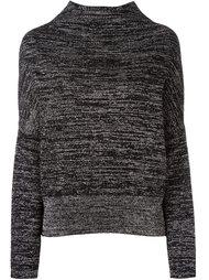 полосатый меланжевый свитер  Jil Sander