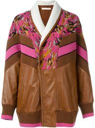 куртка свободного кроя с панельным дизайном Drome
