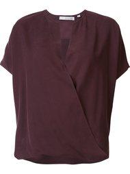 блузка с V-образным вырезом Vince