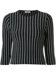 knit crop top Egrey
