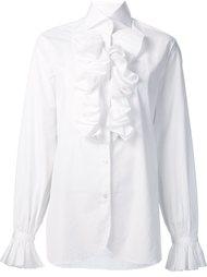 ruffled detail shirt Ralph Lauren
