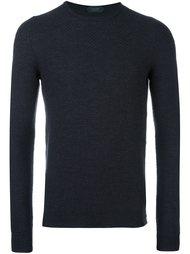 свитер с круглым вырезом Zanone