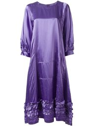расклешенное платье с рюшами Comme Des Garçons Comme Des Garçons
