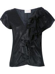 ruffled blouse Maison Rabih Kayrouz