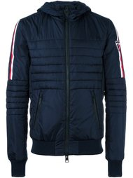 contrast stripe sleeve padded jacket Rossignol