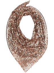 шарф с пайетками Paco Rabanne