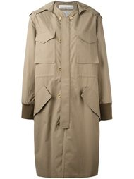 пальто с капюшоном Golden Goose Deluxe Brand