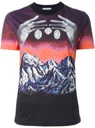 футболка с абстрактным принтом Carven