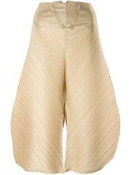 плиссированные объемные брюки Pleats Please By Issey Miyake