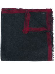 striped trim scarf Faliero Sarti