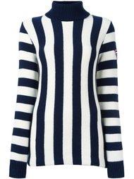 striped roll neck jumper Rossignol