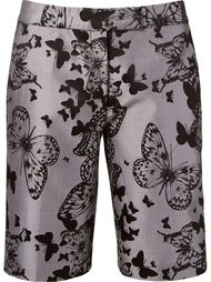 butterfly jacquard shorts Martha Medeiros