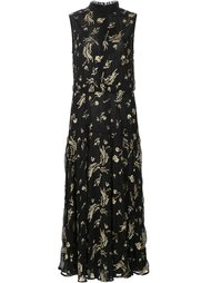 sleeveless floral dress Suno