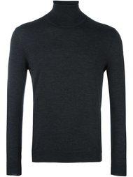 свитер с отворотной горловиной Zanone