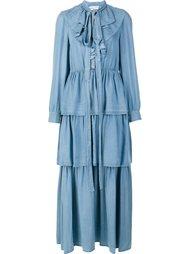 ruffled dress Sonia Rykiel