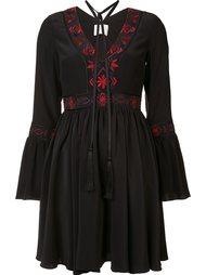 платье с V-образным вырезом Cinq A Sept
