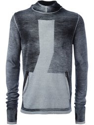 пуловер с капюшоном и карманами Stone Island Shadow Project