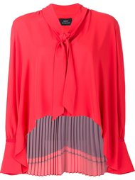 'Camille' back pleat blouse Misha Nonoo