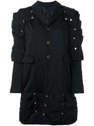 пальто с кнопочной отделкой Comme Des Garçons