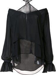 блузка с открытыми плечами Cinq A Sept