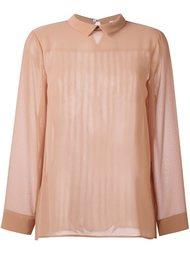 блузка с плиссировкой Erika Cavallini
