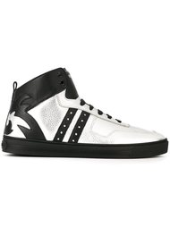 хайтопы на шнуровке Versace