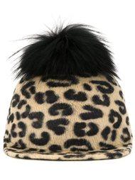 animal print beanie cap DressCamp