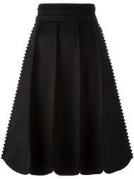 юбка с отделкой Salvatore Ferragamo