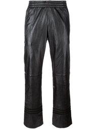брюки прямого кроя Adidas
