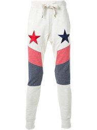 спортивные брюки с вышивкой в виде звезд DressCamp