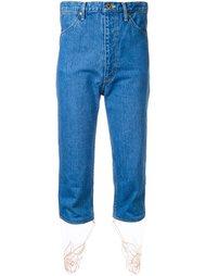 укороченные джинсы  Theatre Products