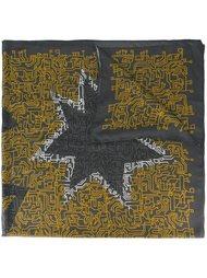 шарф с принтом звезд Furla
