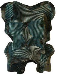 асимметричный плиссированный топ Issey Miyake