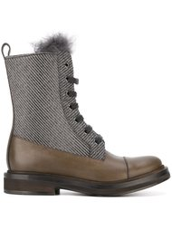 ботинки на шнуровке Brunello Cucinelli