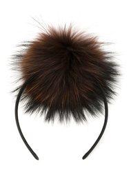 pom-pom headband DressCamp
