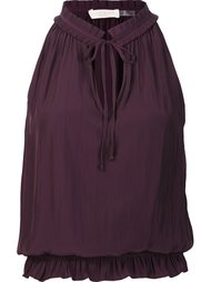 pleated collar top Ramy Brook