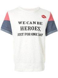 "футболка с принтом ""Heroes"" DressCamp"