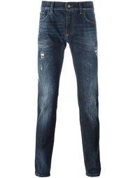 джинсы с нашивкой Dolce & Gabbana
