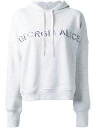 'GA' hoodie Georgia Alice