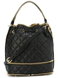 сумка-мешок с декоративной молнией Moschino