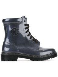 сапоги со шнуровкой Armani Jeans