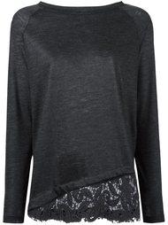 пуловер с вышивкой макраме Fabiana Filippi