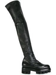 ботфорты на низком каблуке Alyx