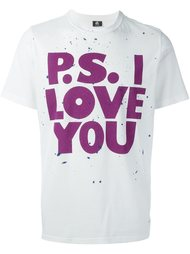 футболка 'I Love You' Ps By Paul Smith