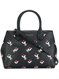 сумка-тоут 'Gotham' декорированная тюльпанами  Marc Jacobs